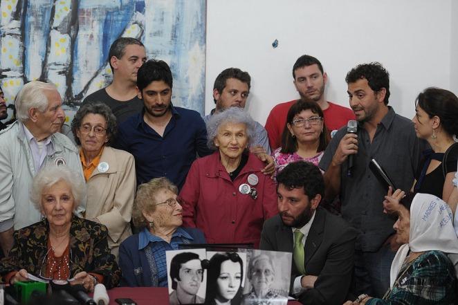 Estela: �Ana Libertad hoy recupera su identidad�