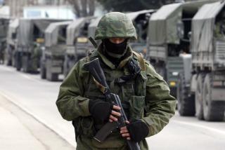 Rusia rechazó la posibilidad de intervenir militarmente en Ucrania