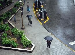 Un domingo con pron�stico de lloviznas y chaparrones
