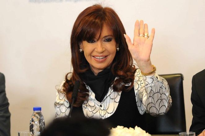Cristina habló con Capitanich en un acto en Chaco