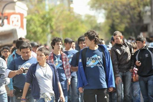 Más de 40000 personas colman el estadio de Argentinos Juniors
