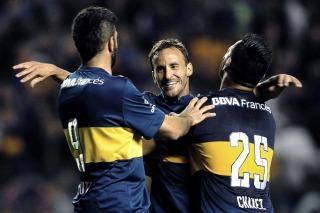 Boca goleó a Rosario Central como local y accedió a los octavos