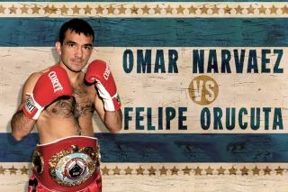 Narváez defiende el título supermosca ante Orucuta