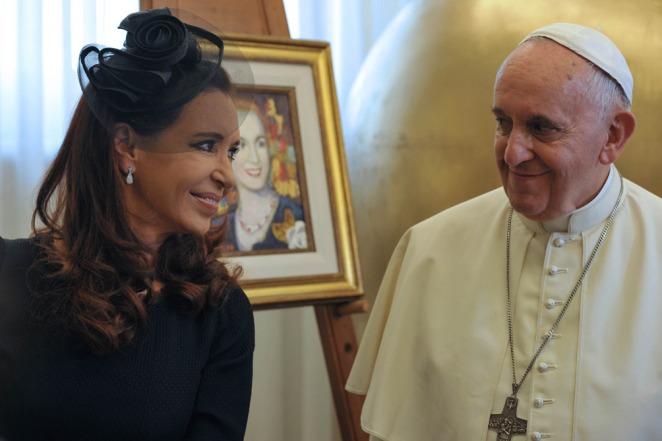 """Cristina y Francisco en el Vaticano: un reencuentro marcado por la """"cordialidad y la emoción"""""""
