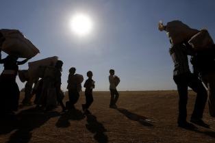 Esperan a una familia de refugiados sirios, la primera en llegar al nordeste