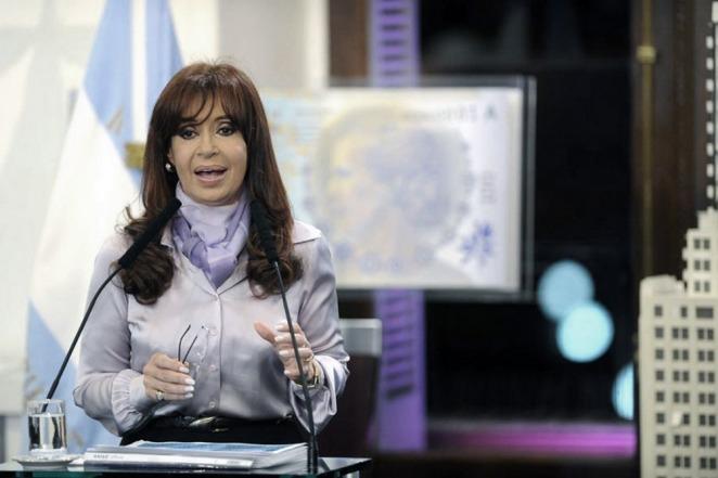 """Cristina: """"Si están tan interesados en una Argentina próspera por qué no nos dejan pagar la deuda�"""