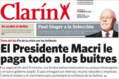 En la caba la c mpora parodi al diario con una edici n for Las ultimas noticias del espectaculo argentino