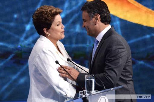 Brasil: Rousseff y Neves buscan sacarse ventaja sobre el final de la campaña