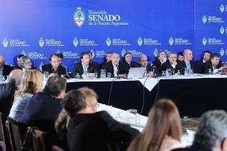 El Gobierno ratificó en el Senado que no habrá ajustes en 2015