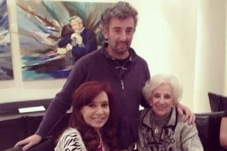 Cristina recibe a Carlotto y su nieto en Olivos, y después viaja a Chaco