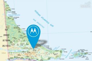 Motorola proyecta producir teléfonos 4G en Tierra del Fuego