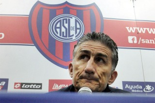 """Bauza: """"San Lorenzo está flojo, me preocupa su falta de efectividad"""""""