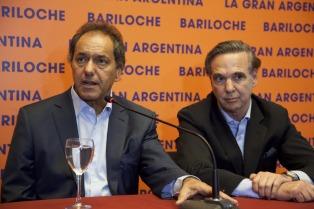 Scioli y Pichetto pusieron primera en la carrera presidencial