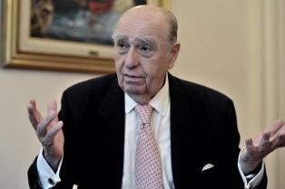 El ex presidente uruguayo Sanguinetti apoyó a Macri