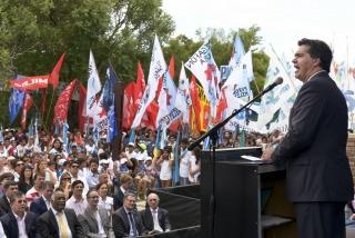 """""""Un ejercicio de soberanía es cuando la Presidenta dice 'No' a los buitre"""""""