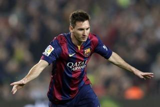 Messi: �No imaginaba superar ningún récord�