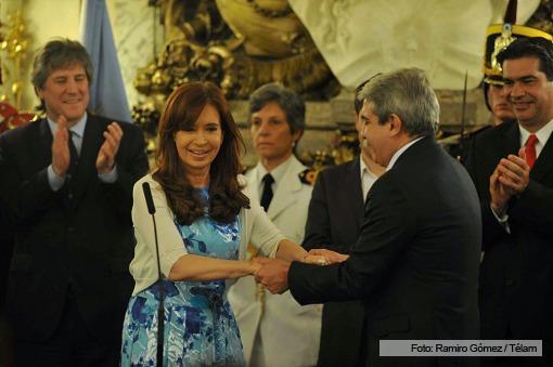 Aníbal Fernández juró como Secretario General de la Presidencia