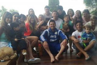 Messi ya descansa en Rosario con su familia tras otro año de protagonismo
