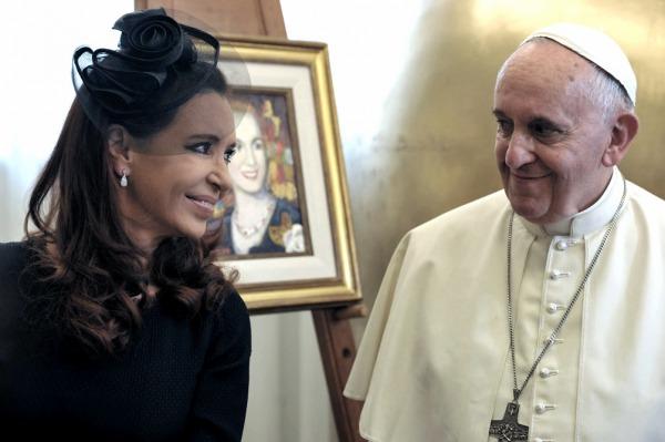 Cristina y Francisco: una relación de afecto con repercusiones globales