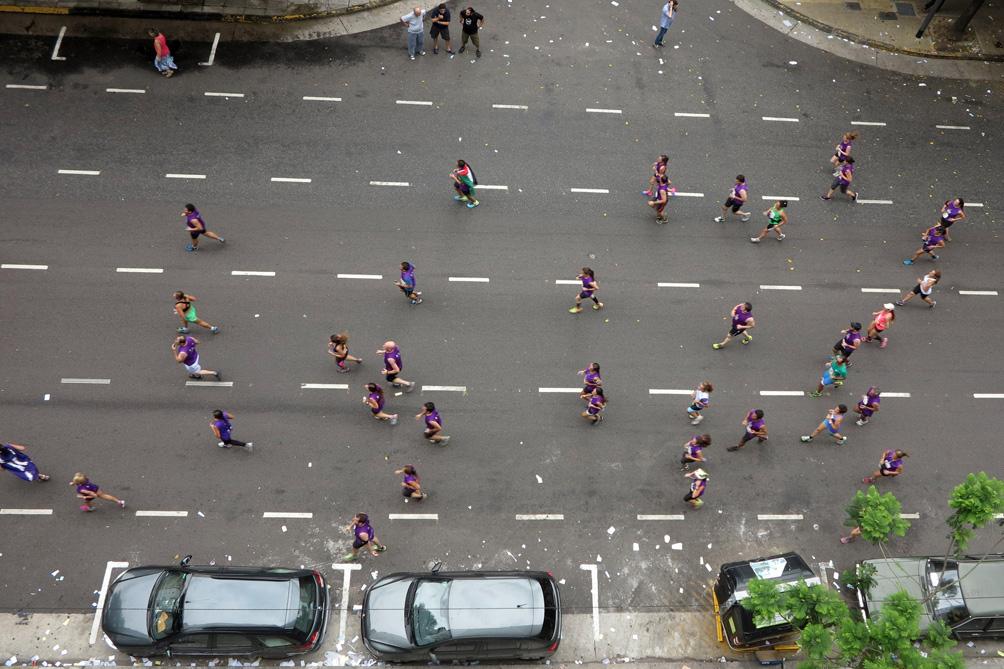 La clásica carrera de San Silvestre convocó a más de 11 mil personas