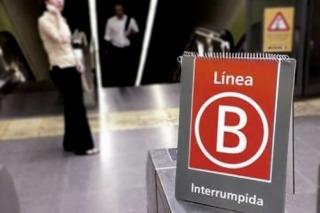 La línea B de subtes estará cerrada hasta el lunes por obras