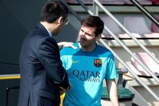 """""""A Messi le podríamos poner un euro de cláusula y no se iría"""", dijo el presidente de Barcelona"""