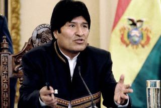 """La muerte de Nisman fue una emboscada contra Cristina"", afirmó Evo"
