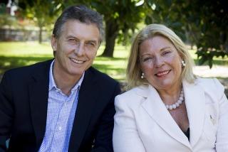 Macri y Carrió anunciaron una alianza para competir en las elecciones internas
