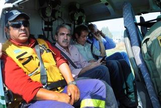 """Incendio en Chubut: """"Tiene todas las características de ser intencional"""""""