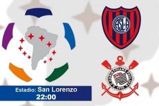 San Lorenzo recibe a Corinthians en busca de afianzarse en su grupo