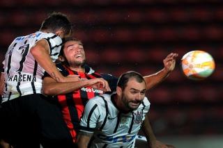 San Lorenzo perdió con Corinthians de local y a puertas cerradas