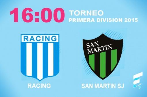 Racing, con Milito en duda, va por un triunfo ante San Martín de San Juan