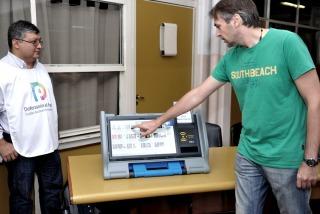 Más de 150 mil porteños hicieron el simulacro de voto electrónico