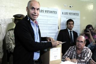 """Tras la victoria, Larreta agradeció """"de todo corazón"""" a Michetti"""