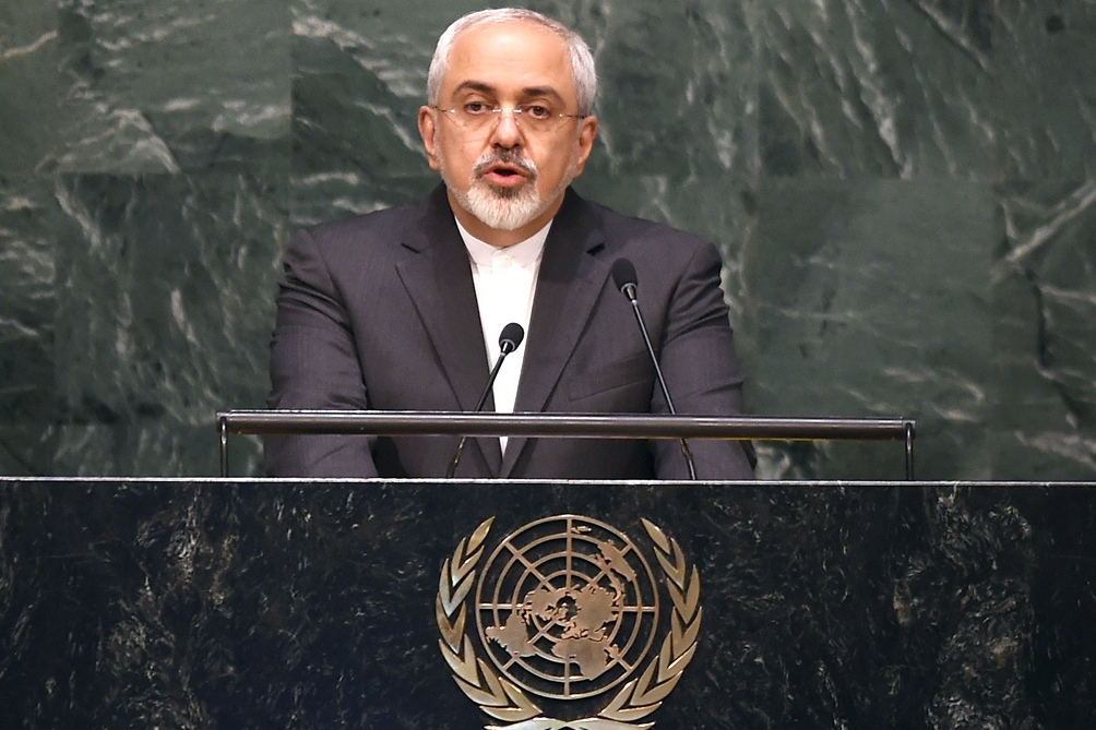 Yavad Zarif, canciller de Irán