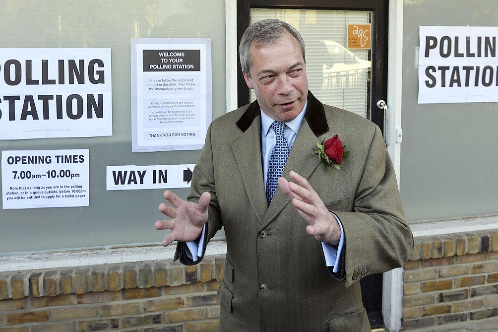 Farage no se presentará a las elecciones por el Partido del Brexit