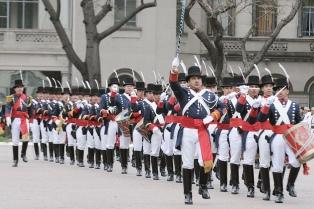 Los regimientos de Patricios y de Granaderos celebraron los 200 años de Paraná