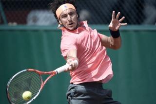 Roland Garros: Mónaco perdió el primer set frente al ruso  Gabashvili