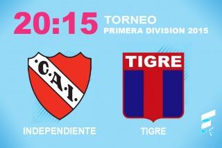 Un Independiente en crisis y con DT interino buscará una alegría ante Tigre