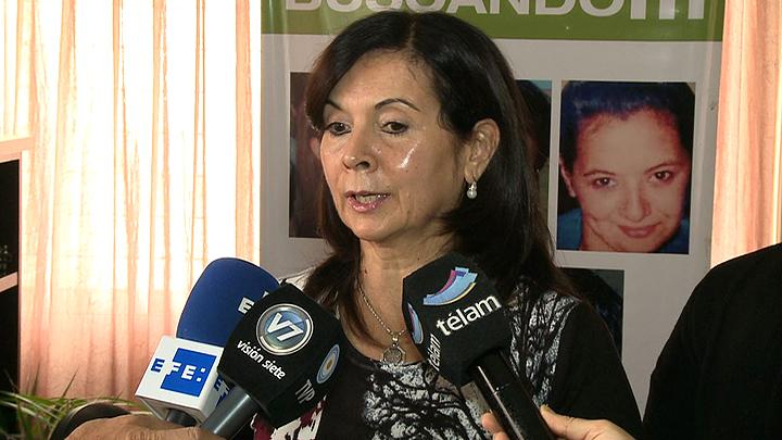 """Susana Trimarco expresó su apoyo a la marcha y pidió que """"no quede acá"""""""