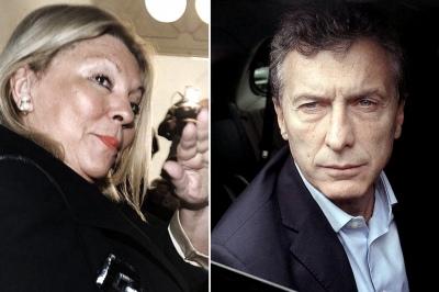 Carrió le dijo a Macri que quiere la destitución de Garavano