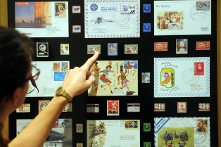 Con 140 coleccionistas de 18 países se inaugura la Exposición Internacional de Filatelia