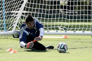 """Romero sobre Messi: """"Sería una locura que no esté, es nuestra bandera"""""""