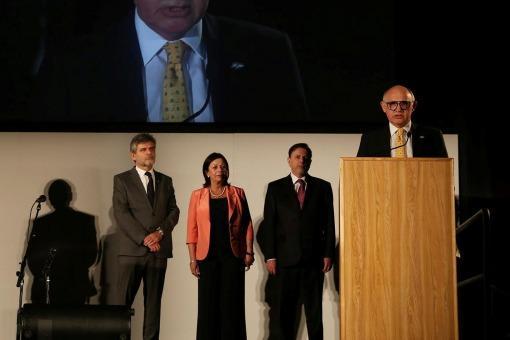 Santaolalla y Rep llevaron su arte a la ONU para pedir por una resolución pacífica en la cuestión Malvinas