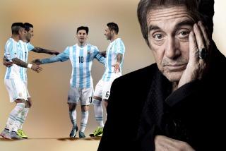Al Pacino, a la Selección antes de la final: �Los amo como jugadores�