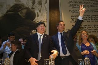 """Scioli: """"Kirchner era un fuera de serie al que tuve el honor de acompañar�"""