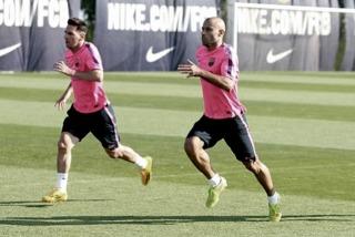 Messi y Mascherano se reincorporan al Barcelona antes de lo previsto