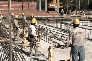El nivel de actividad de la construcción registró en junio una suba de 11,5 %