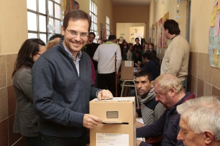 El intendente peronista Martín Gill fue reelecto en la ciudad de Villa María