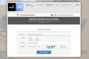 La Cámara Electoral extiende el plazo de consultas del padrón provisorio y fija documentos válidos para votar